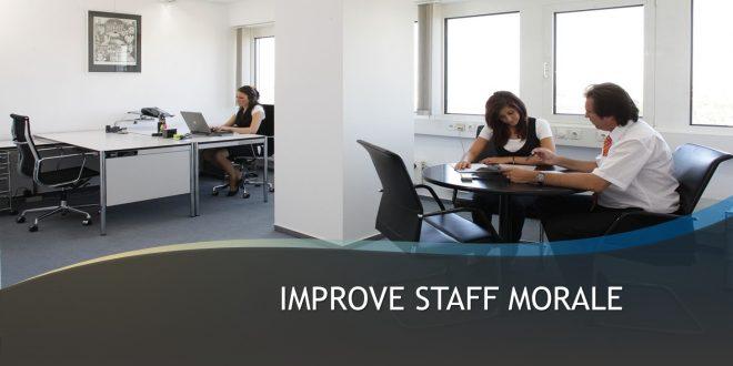 Improve Staff Morale