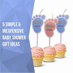 Simple & Inexpensive Baby Shower