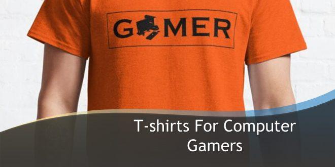 T-shirts Gamers