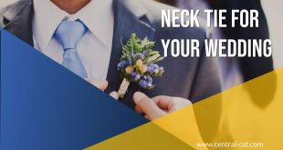 neck tie for your wedding
