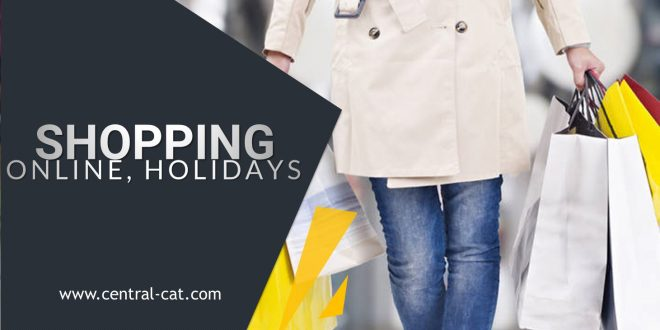 shopping online holidays