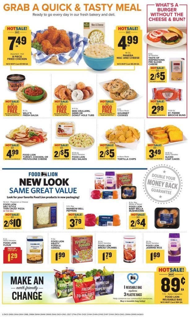 Food Lion Weekly Ad This Week May 5 – 11, 2021