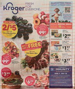 Kroger Weekly Ad June 30 - July 6, 2021