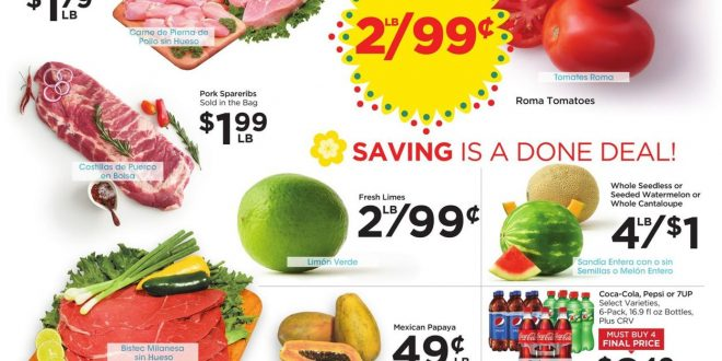 1. Food 4 Less Weekly Ad August 18 - 24, 2021