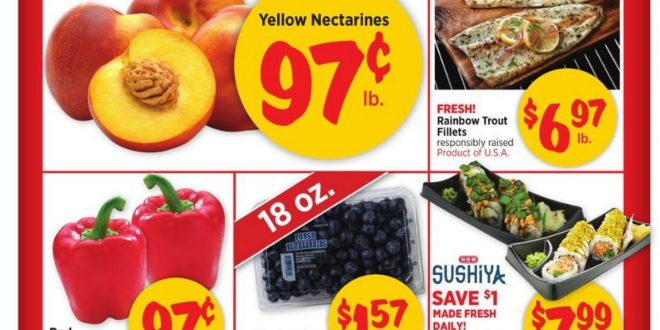 1. H-E-B Weekly Ad August 18 - 24, 2021.