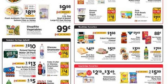 1. ShopRite Weekly Ad August 15 - 21, 2021