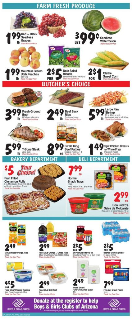 2. Bashas Weekly Ad August 18 - 24, 2021.