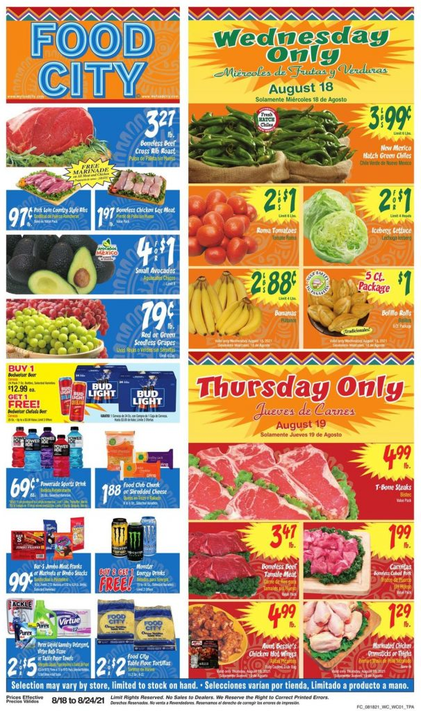 2. Food City Weekly Ad August 18 - 24, 2021.