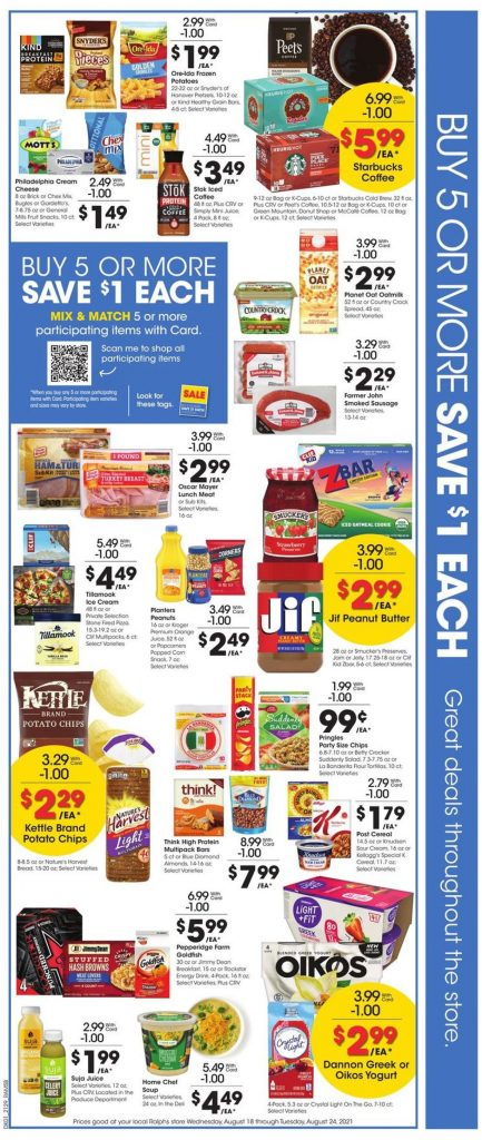 2. Ralphs Weekly Ad August 18 - 24, 2021.