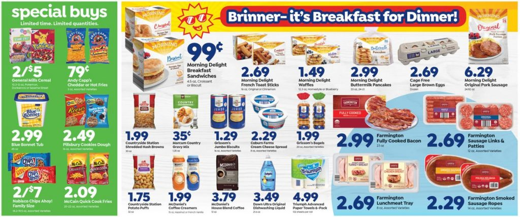 2. Save a Lot Weekly Ad August 18 - 24, 2021