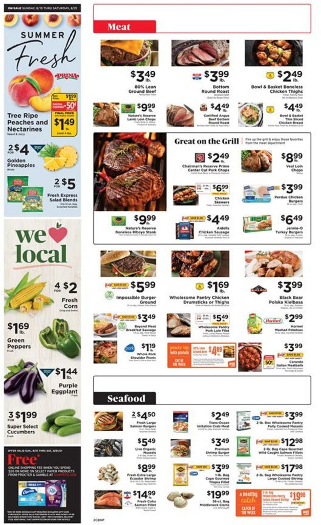 2. ShopRite Weekly Ad August 15 - 21, 2021