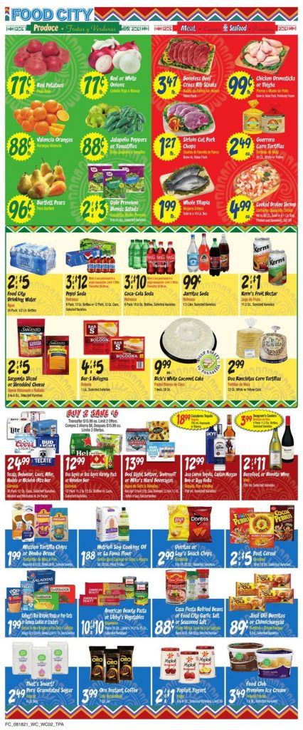 3.Food City Weekly Ad August 18 - 24, 2021.