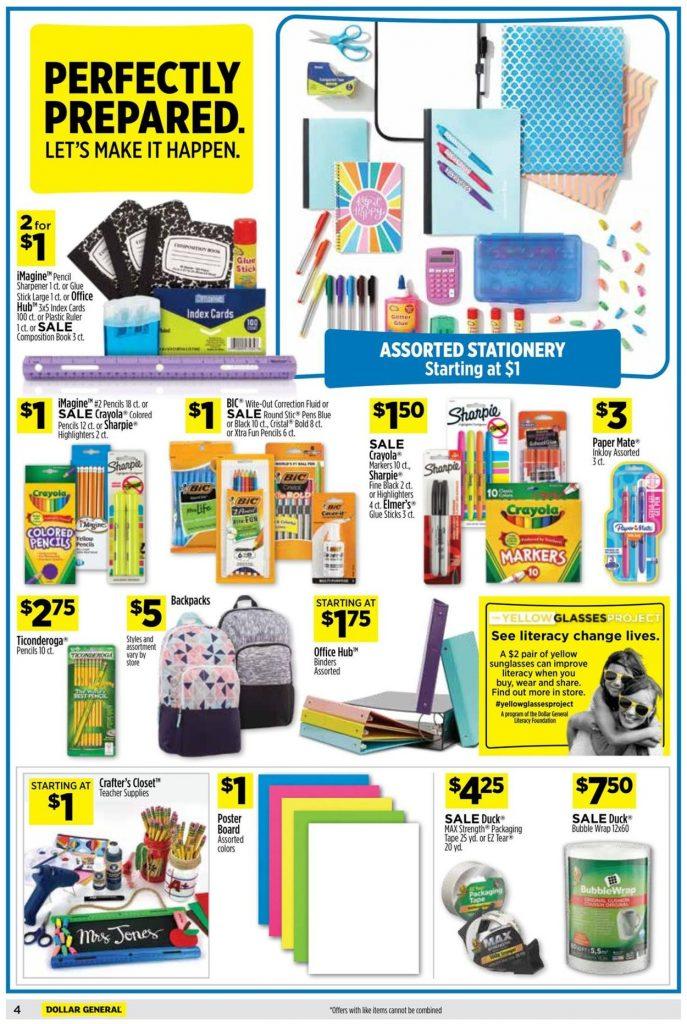5. Dollar General Weekly Ad August 15 - 21, 2021
