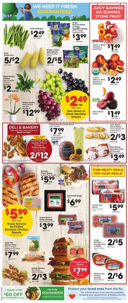 6. Ralphs Weekly Ad August 18 - 24, 2021.