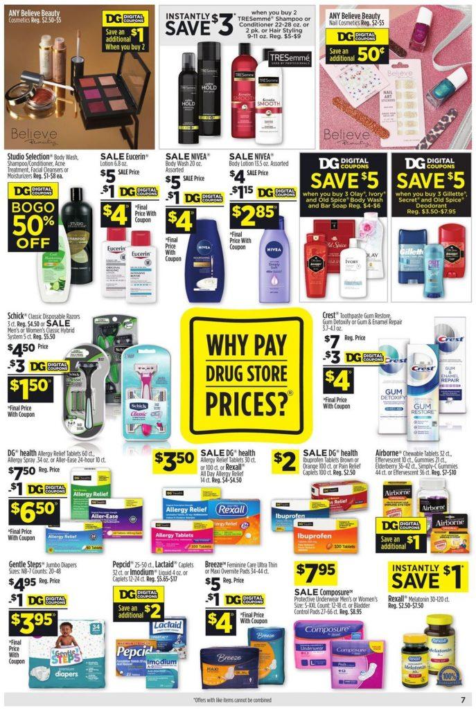8. Dollar General Weekly Ad August 15 - 21, 2021