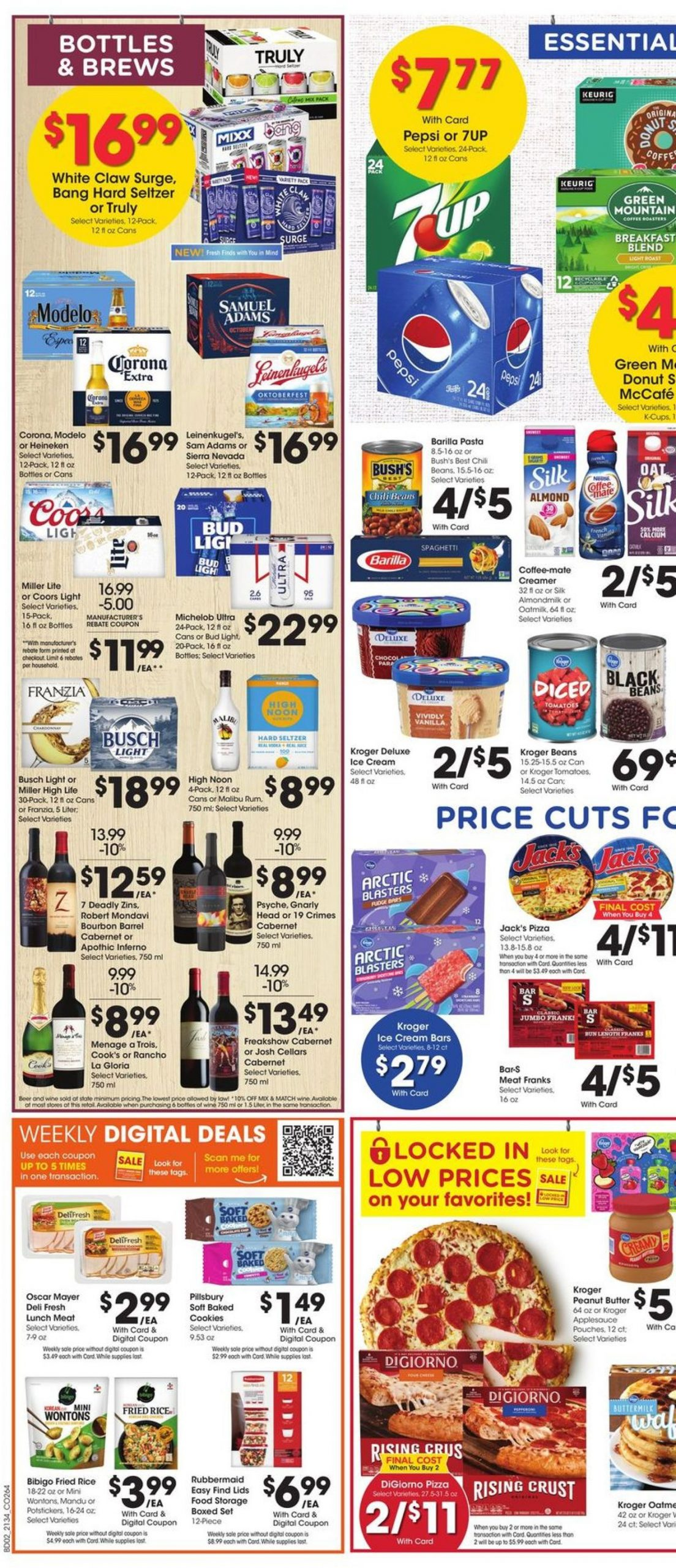 5. Kroger Weekly Ad Preview September 22 - 28, 2021