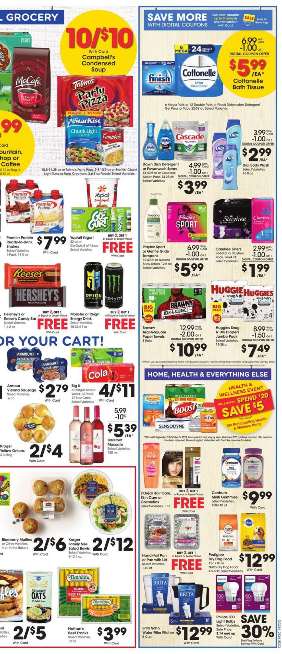 6. Kroger Weekly Ad Preview September 22 - 28, 2021